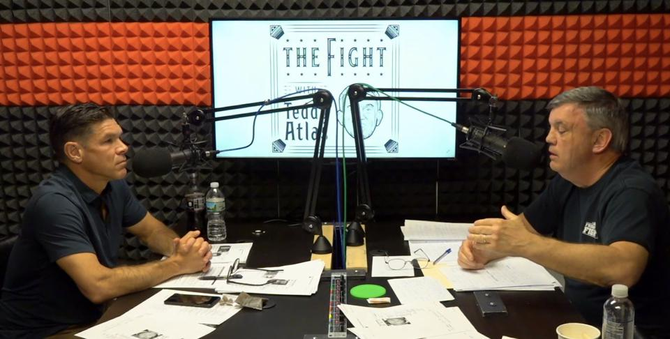 Ken Rideout and Teddy Atlas host ″THE FIGHT with Teddy Atlas..″