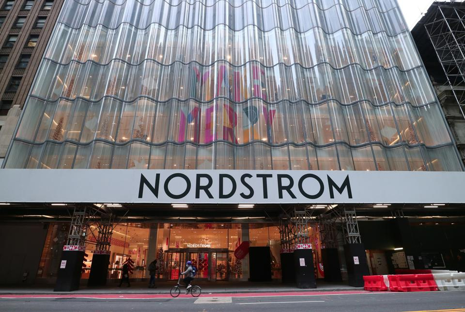 The facade of Nordstrom's flagship in Manhattan.