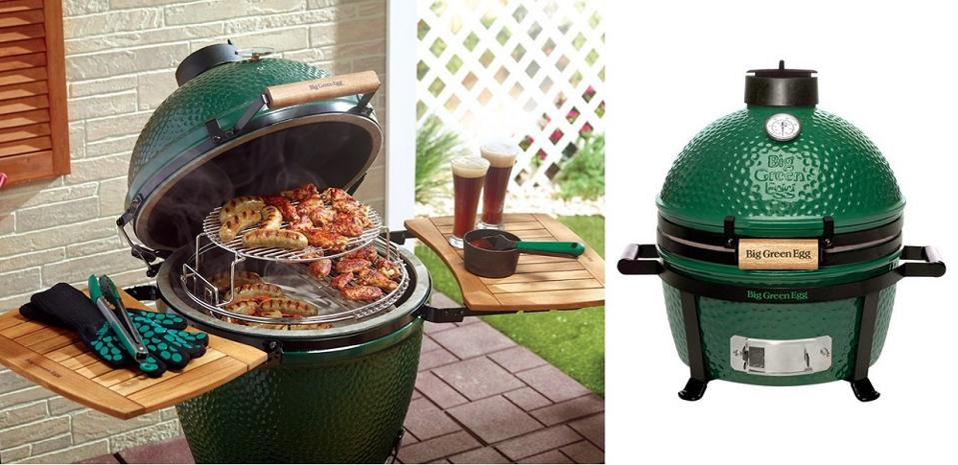 Big Green Egg BBQ grills