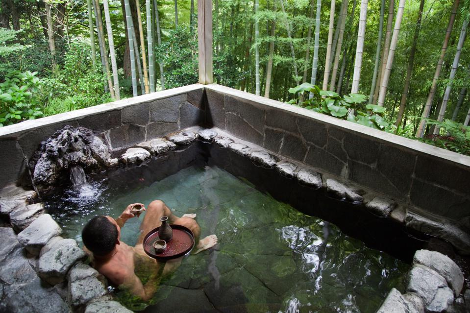 Onsen or hot springs are a popular form of recreation in...