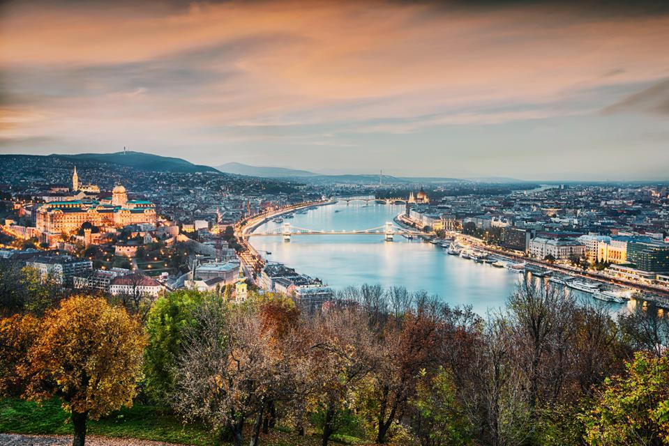 Budapest, the capital of Hungary
