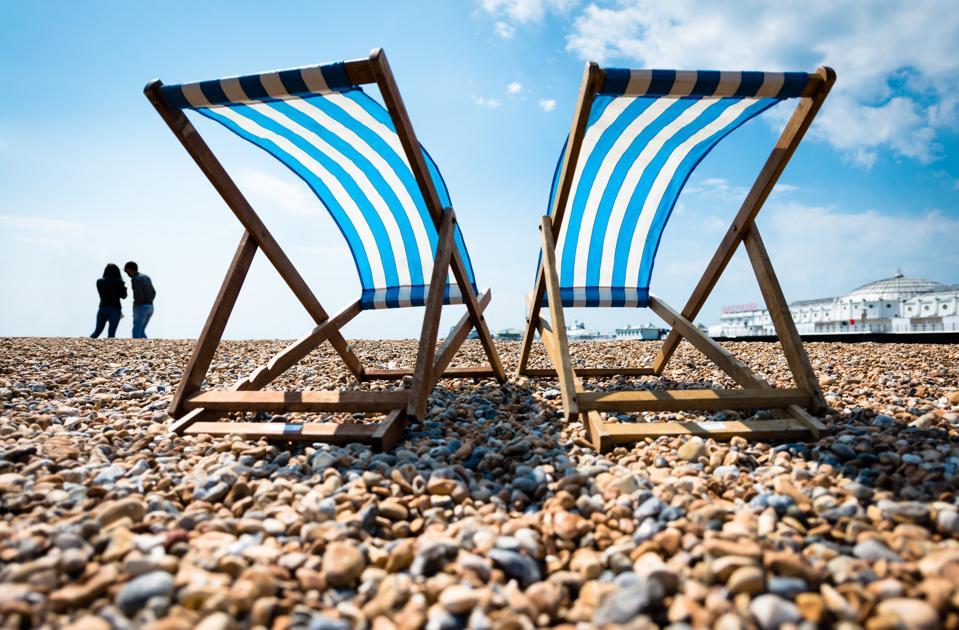 The Palace Pier, Brighton Beach, England