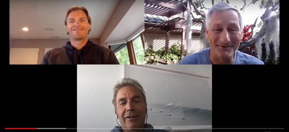 Kevin Costner & Woody Sears, Co-founders of HearHere, want to take a road trip with you