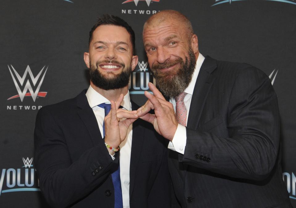 WWE Evolution: Triple H and Finn Balor