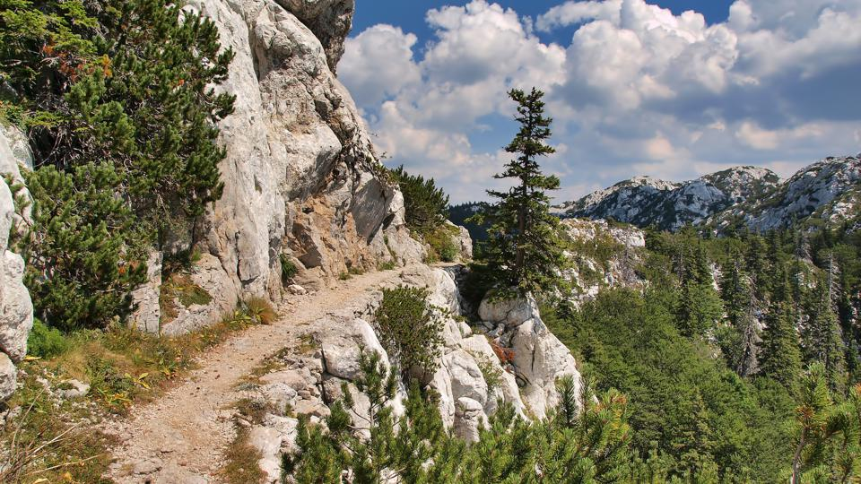 Velebit Mountains View