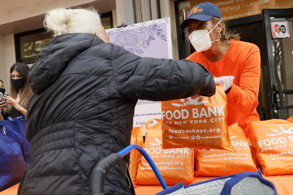 Food Bank For New York City Distributes Personal Hygiene, Childcare Essentials To Families In Need For Mother's Day