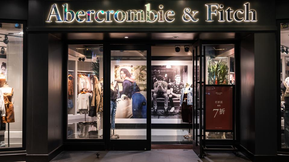 American lifestyle retailer Abercrombie & Fitch store in Shanghai, China.