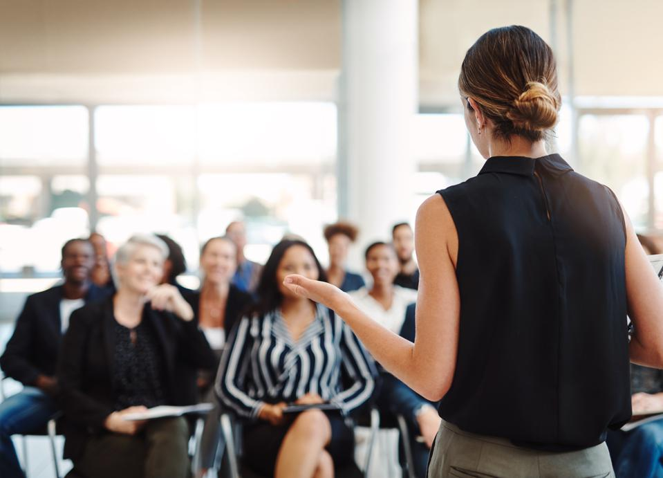 A stress management workshop for employees