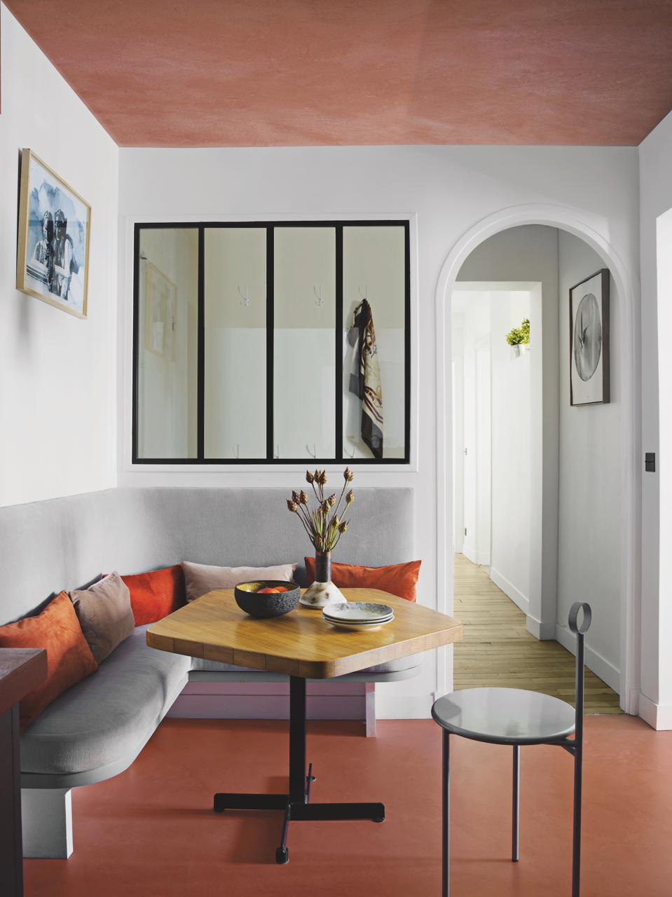 Sophie Dries Architect: Street Art Collector Family Apartment, Paris, France.