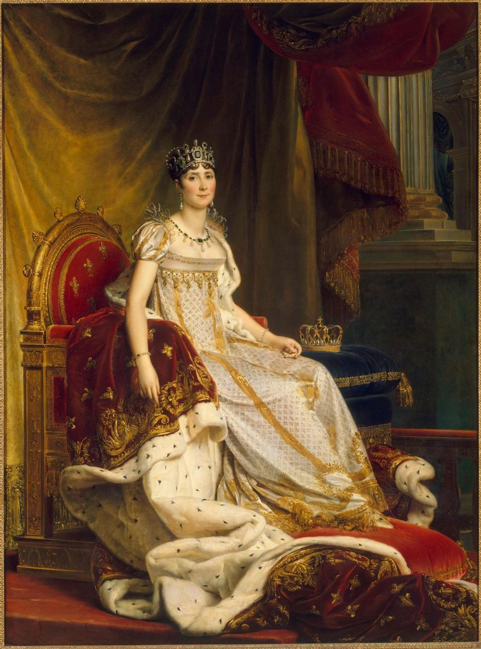 L'impératrice Joséphine à son couronnement