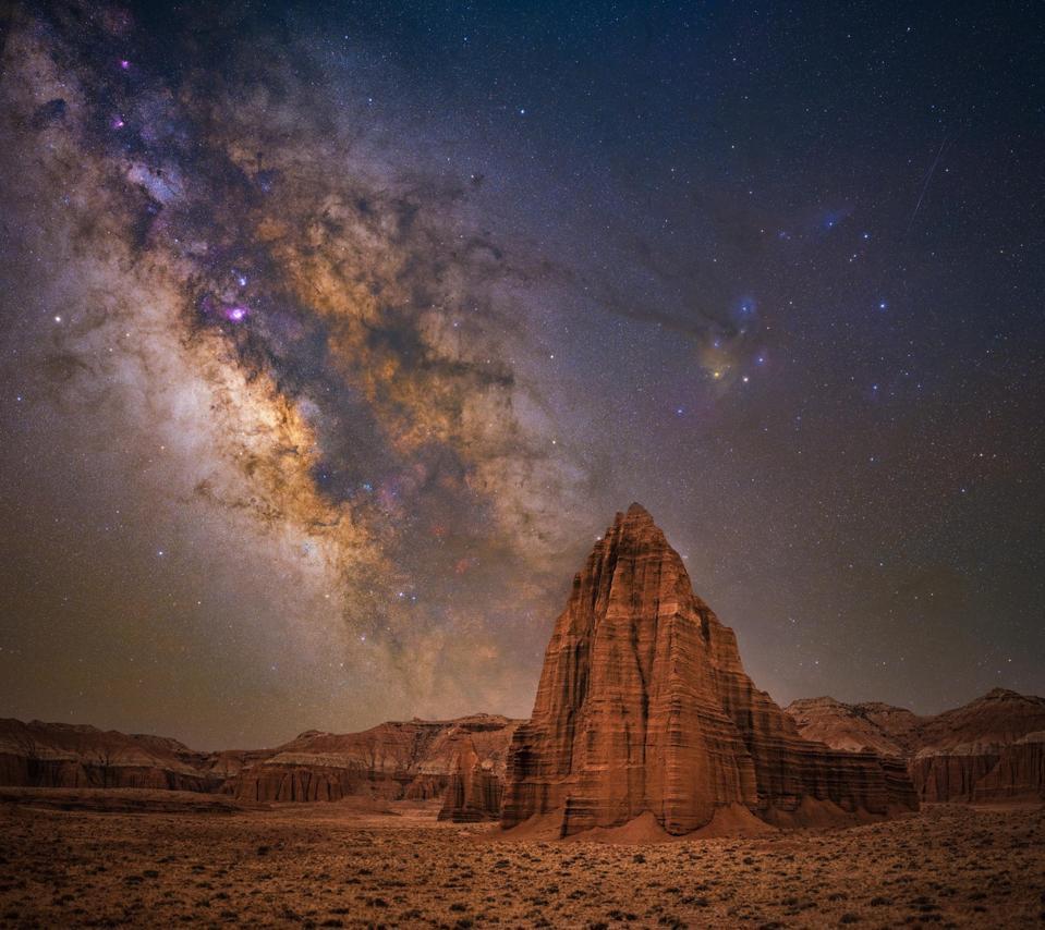 Capitol Reef National Park, Utah stargazing