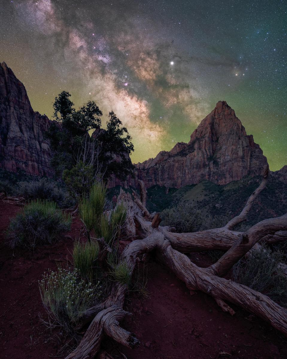 Zion National Park, Utah stargazing