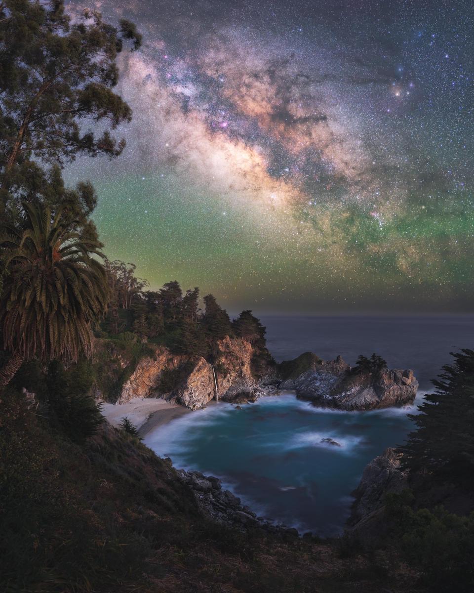 Big Sur, California stargazing