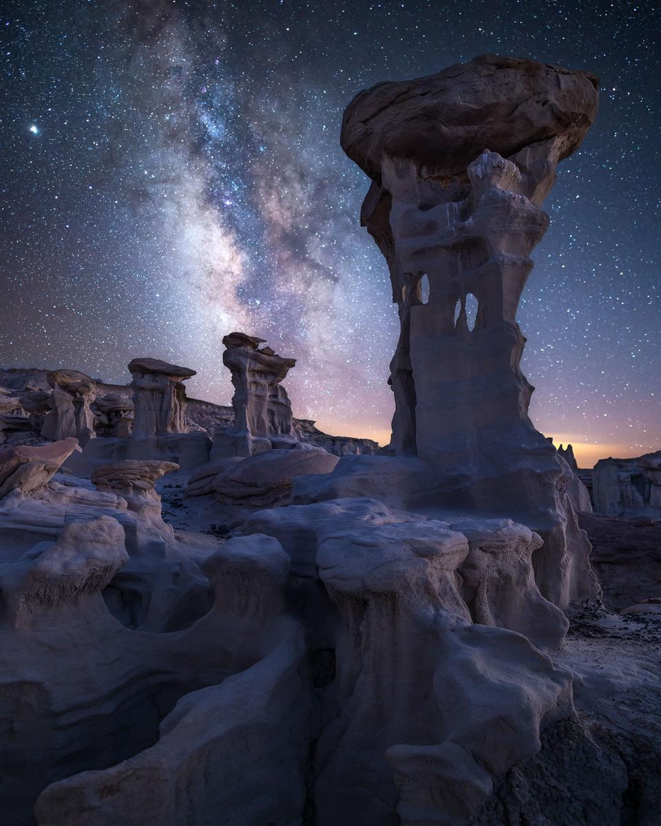 Bisti Badlands, New Mexico stargazing