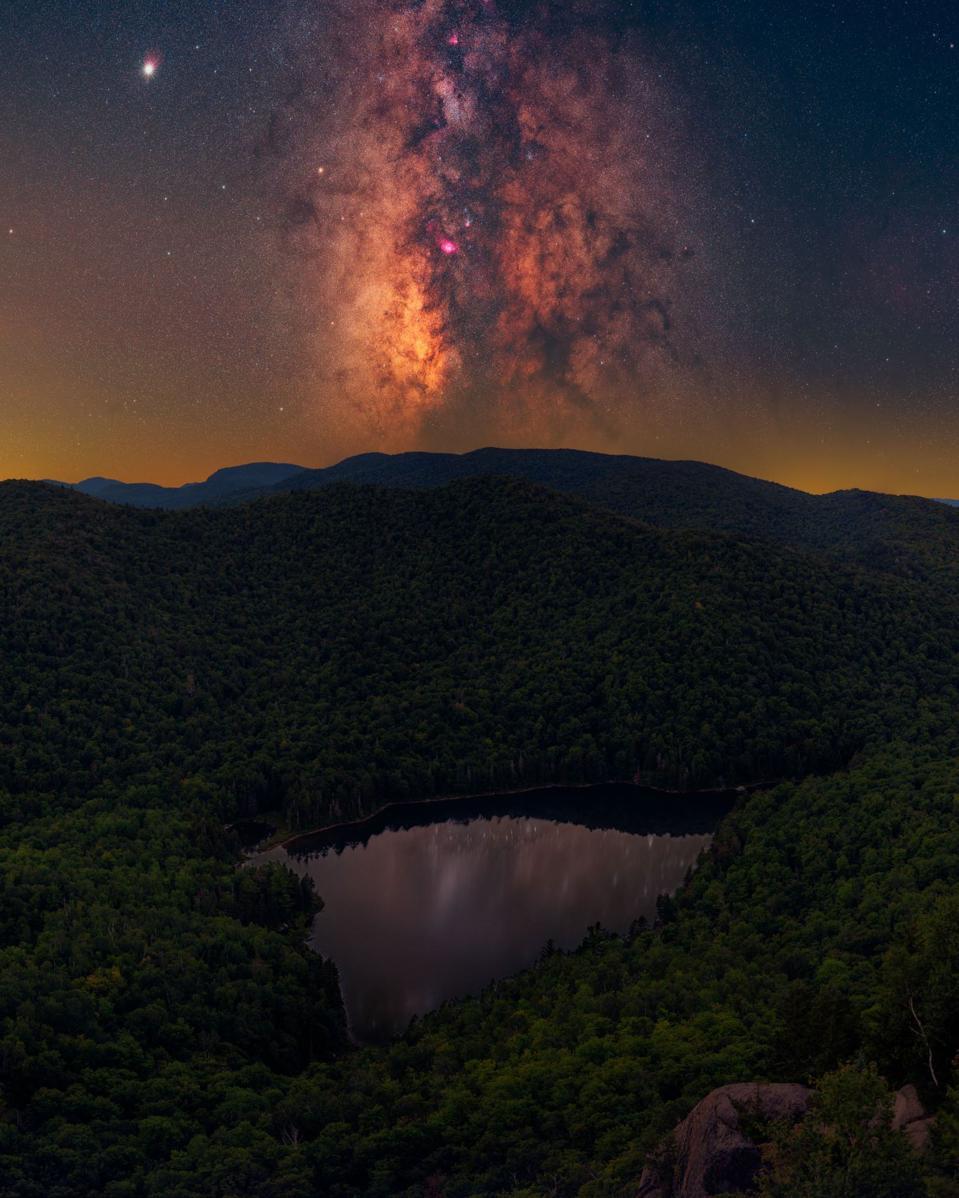 Adirondack Mountains, New York stargazing