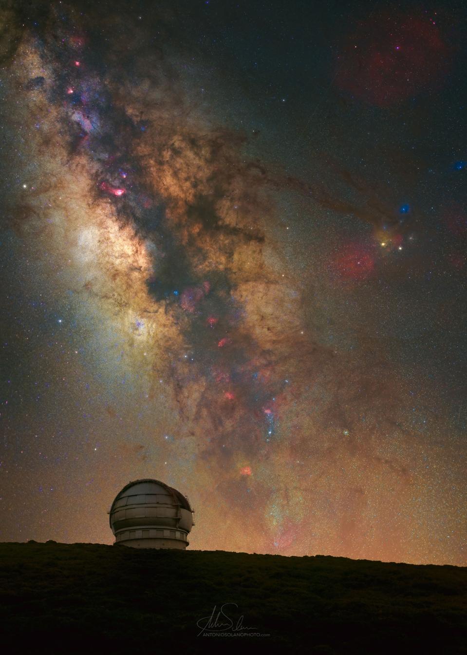 La Palma, Canary Islands, Spain stargazing