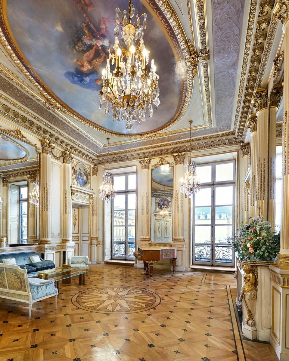 Salon de luxe du sommet