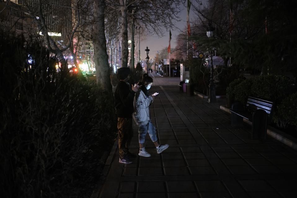 Tehran Power Blackouts Amid COVID-19