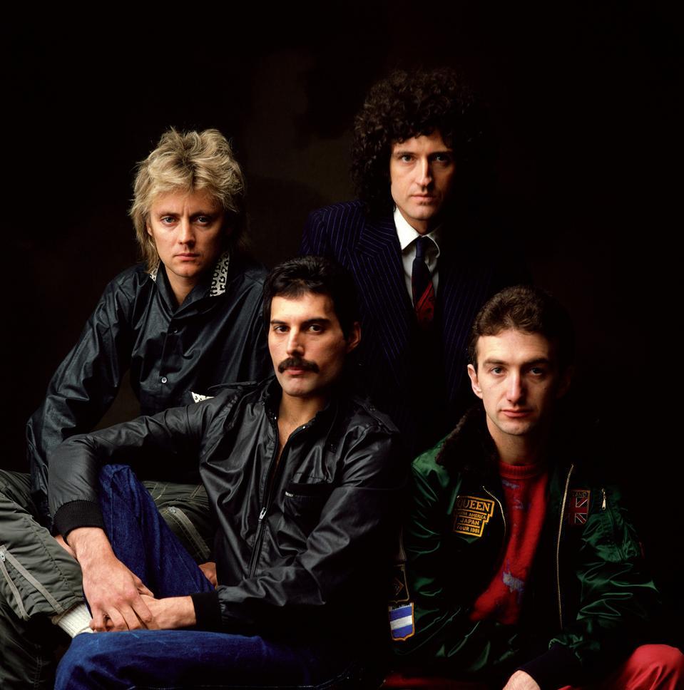 Queen circa 1981.