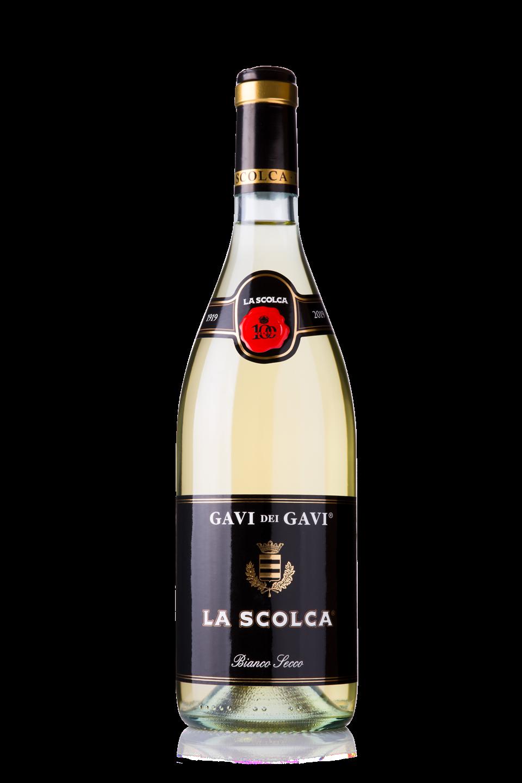 Bottle of La Scolca Gavi dei Gavi Blanco Secco wine