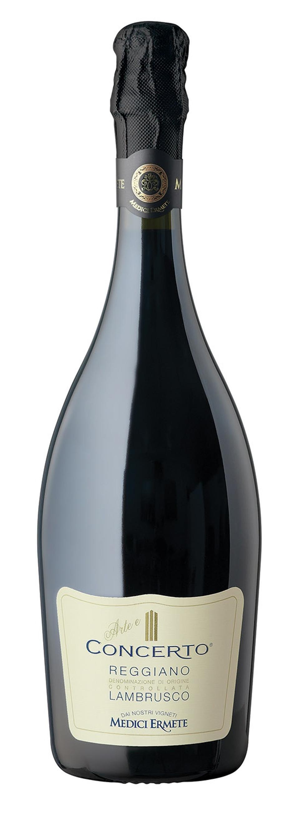 Bottle of Medici Ermete Concerto Reggiano Lambrusco