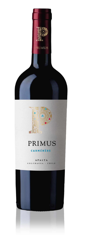 Bottle of Primus Carménère