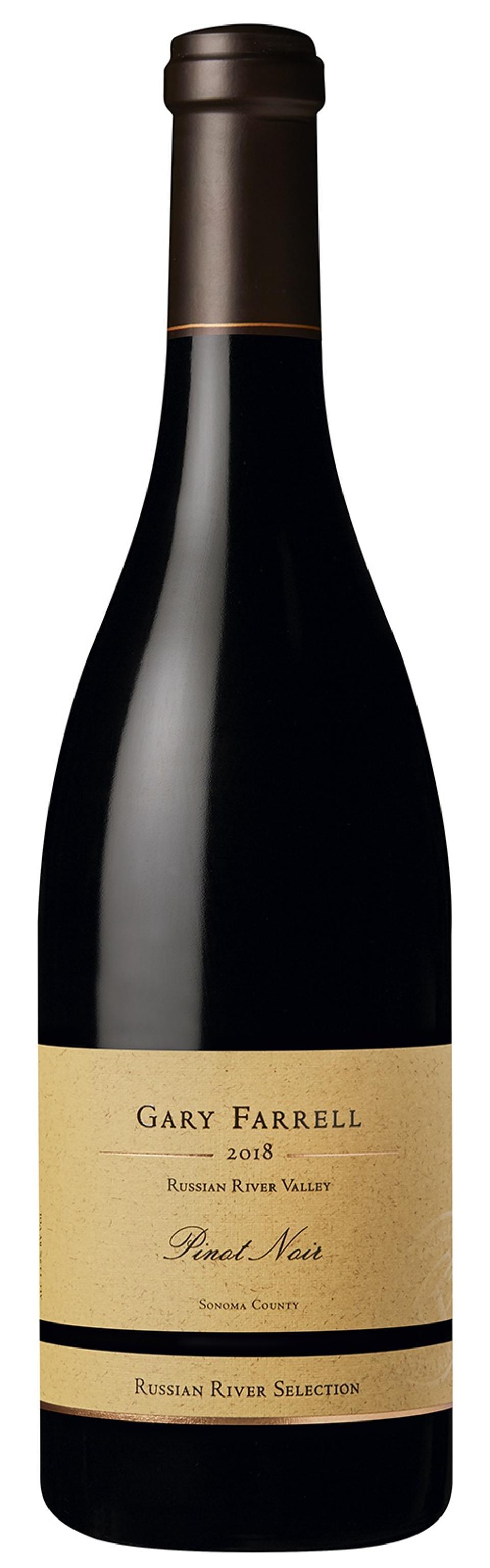 Bottle of Gary Farrell Russian River Valley Pinot Noir