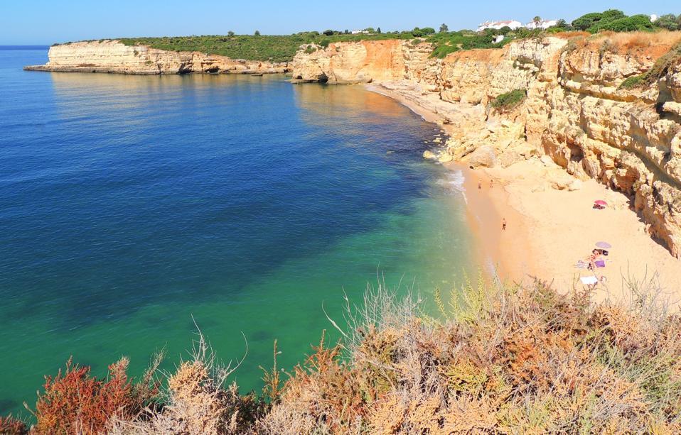 Safest beach: Praia Nova in Algarve, Portugal.