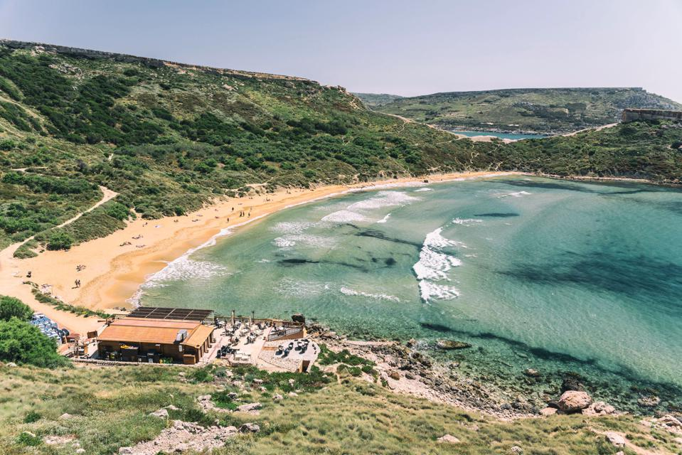 Golden Beach Riviera Beach Ghajn Tuffieha in Malta