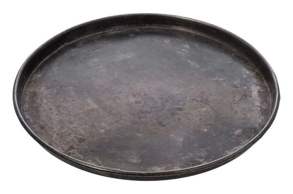metal tray product shot
