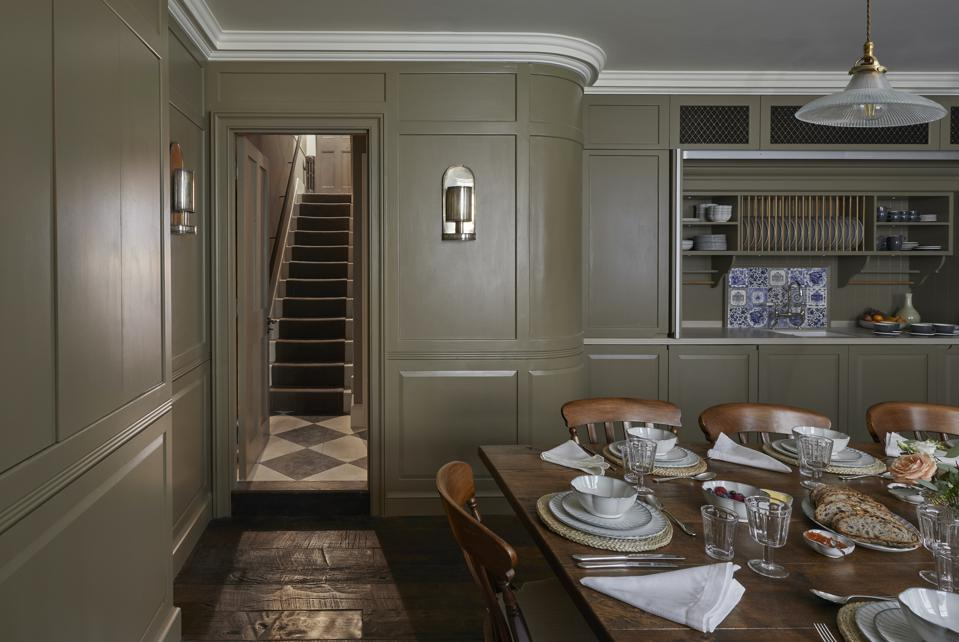 Henry's Townhouse pantry.