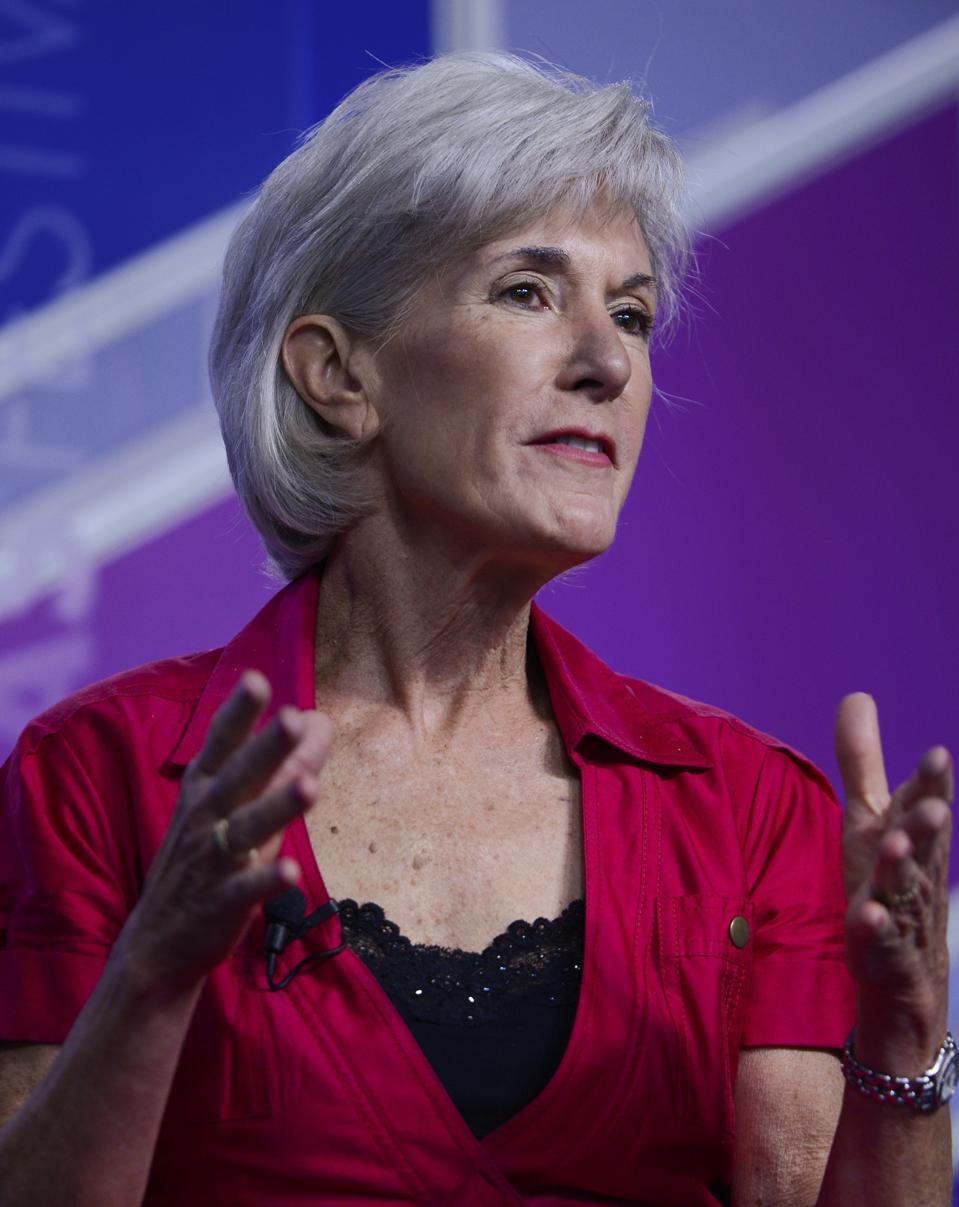 Kathleen Sebelius at the Aspen Institute on June 26, 2015