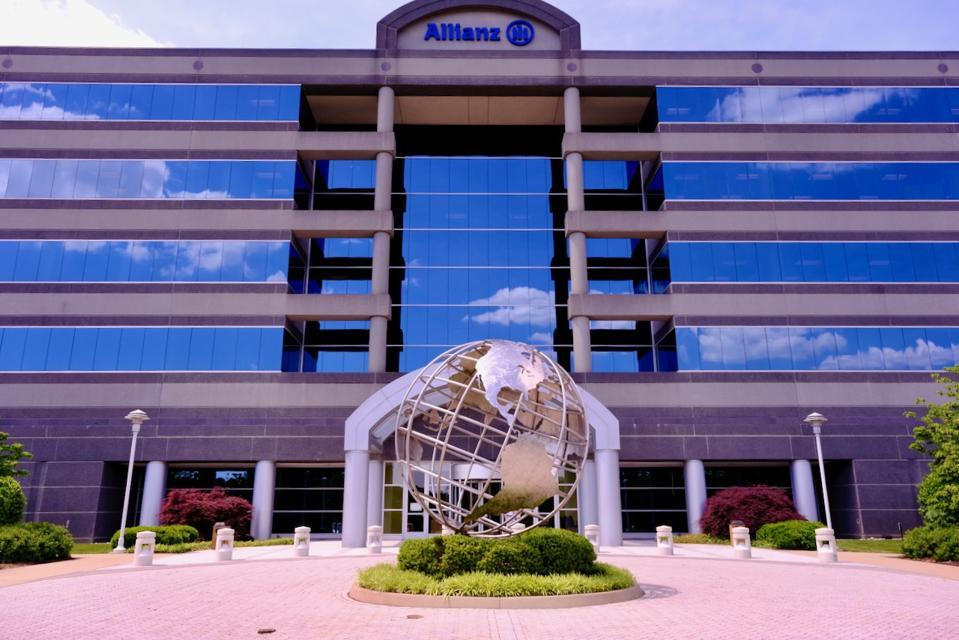 Image of world headquarters of travel insurance company Allianz Partners in Richmond, Va.