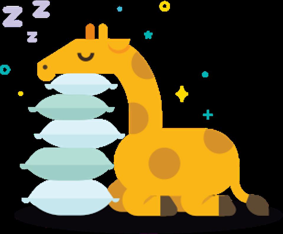 Είστε καμηλοπάρδαλη;  Ο τρόπος ύπνου και η φυσική σας κατάσταση θα σας πουν.