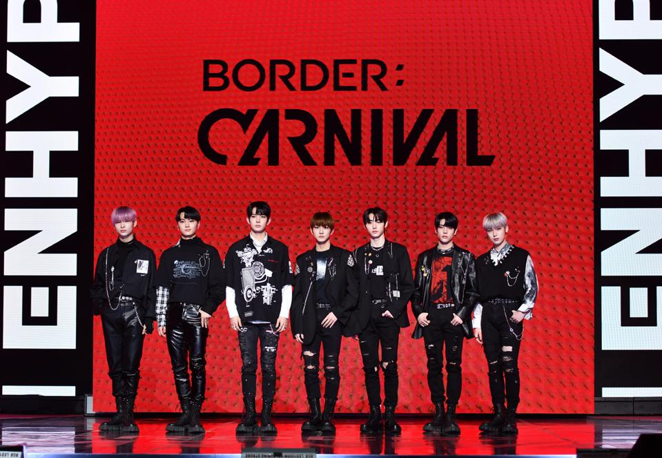 ENHYPEN 'BORDER : CARNIVAL' Release Showcase