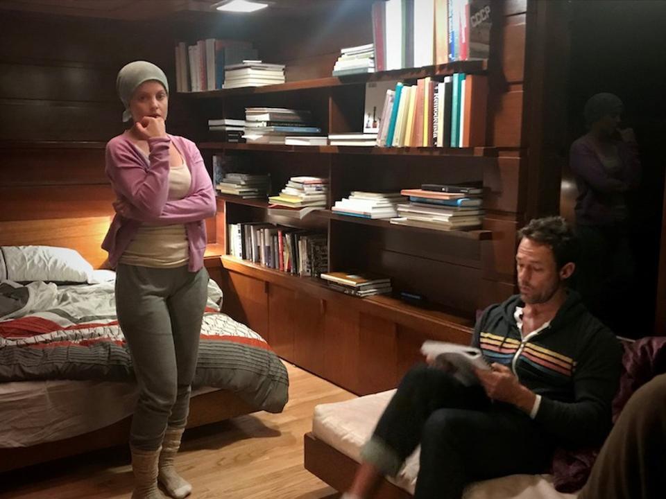 Mena Suvari and Sebastian Siegel from 'Grace And Grit.'