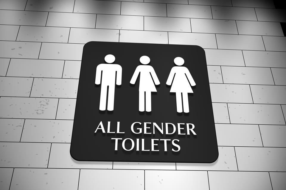 All Gender Toilets sign