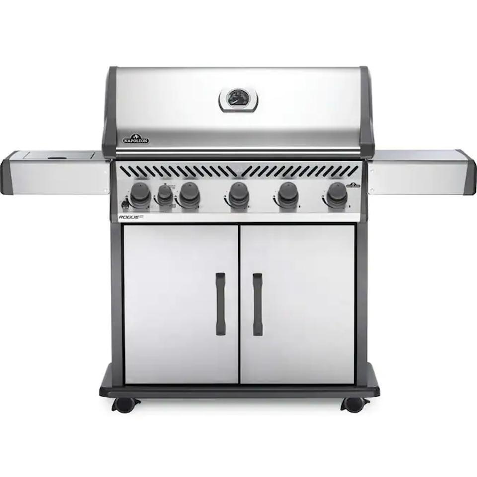 Memorial day grill sales: Napoleon Rogue XT Stainless Steel 5-Burner Natural Gas Infrared Gas Grill