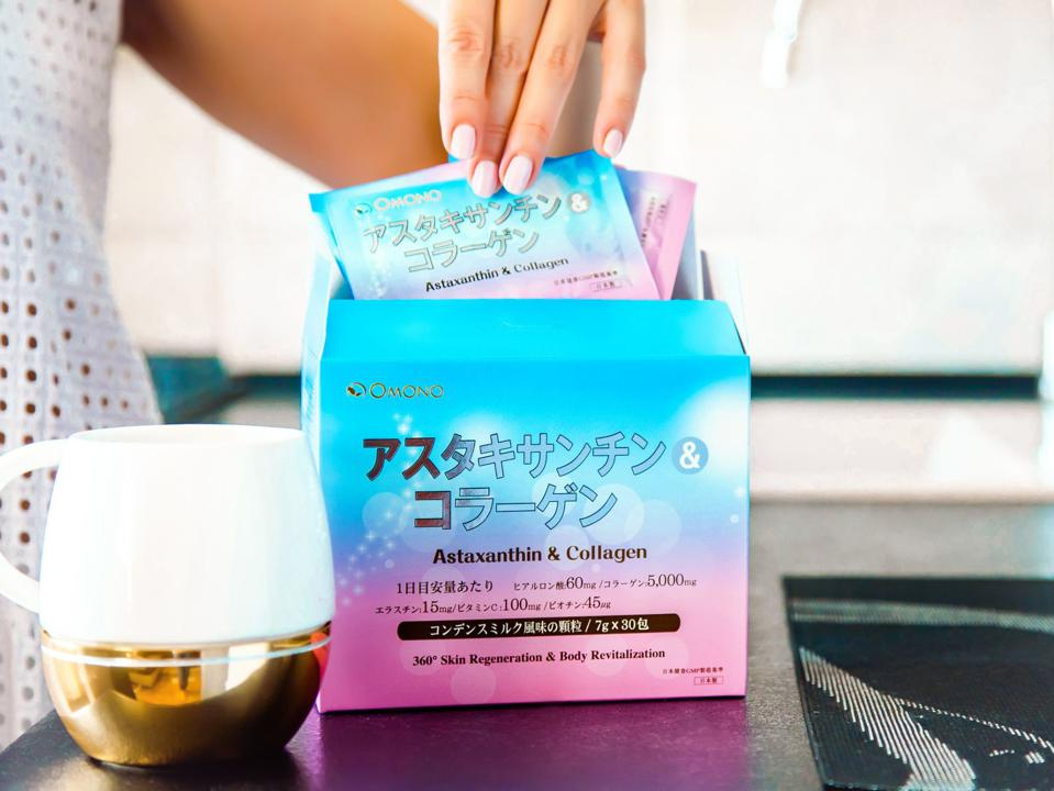 OMONO helps promote overall skin health and glow in one drink.
