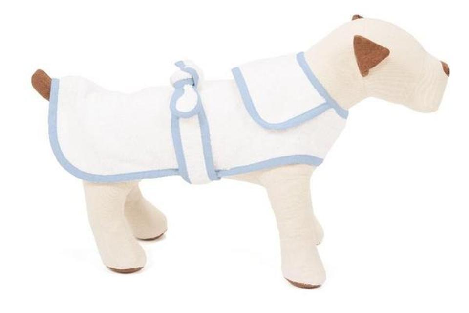 Terry Cloth Dog Robe