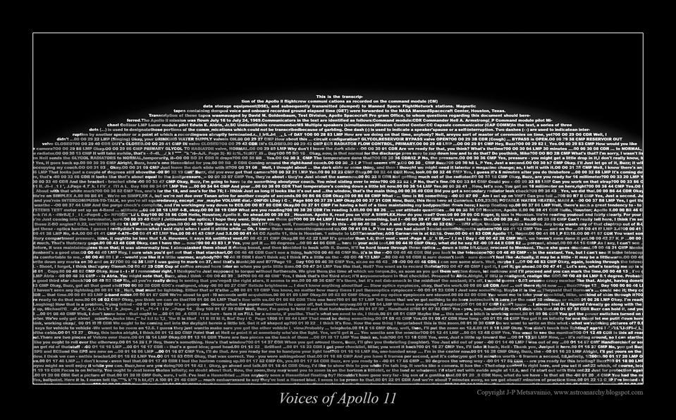 Detail of Finnish astrophotographer and artist J-P Metsavainio's Apollo 11 tribute.
