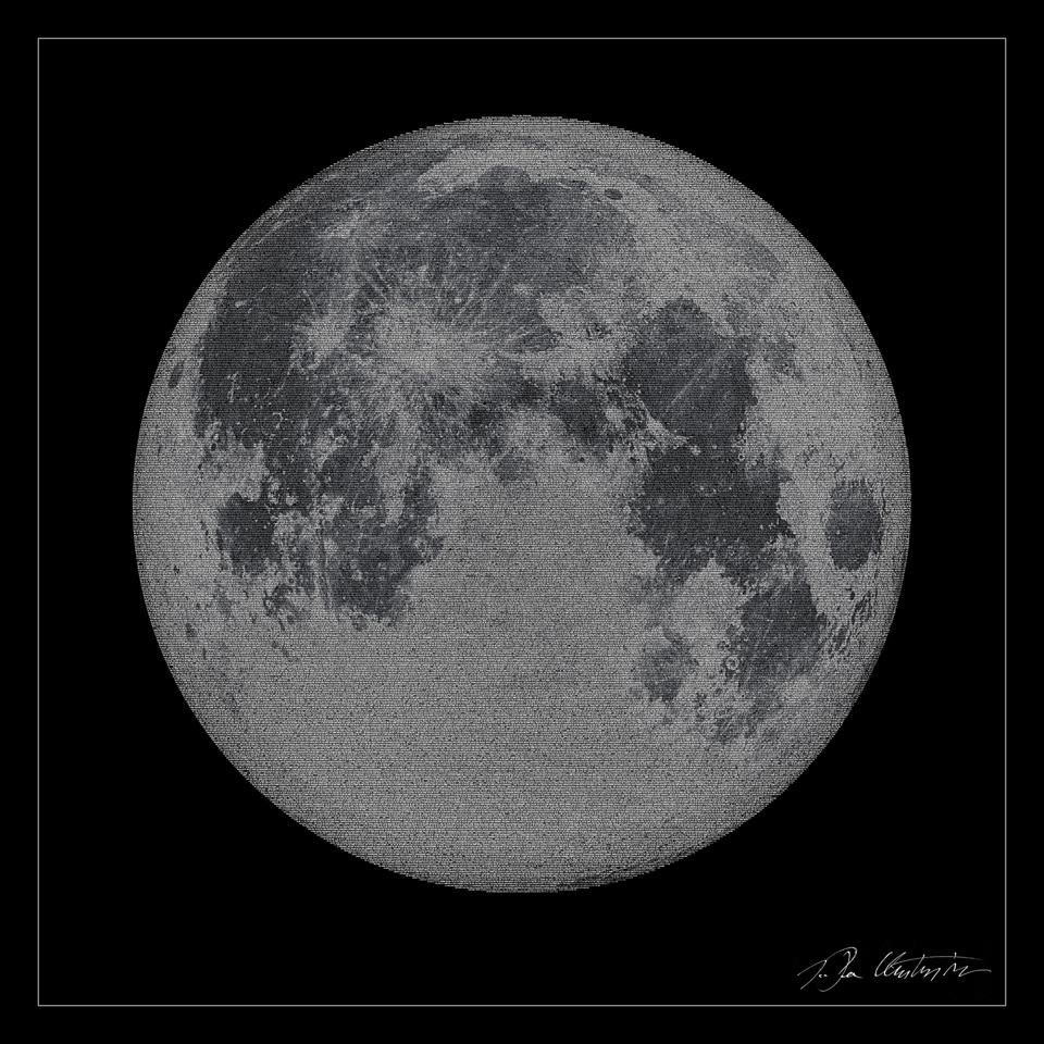 When is the Moon not a Moon? When it's composed entirely of text.