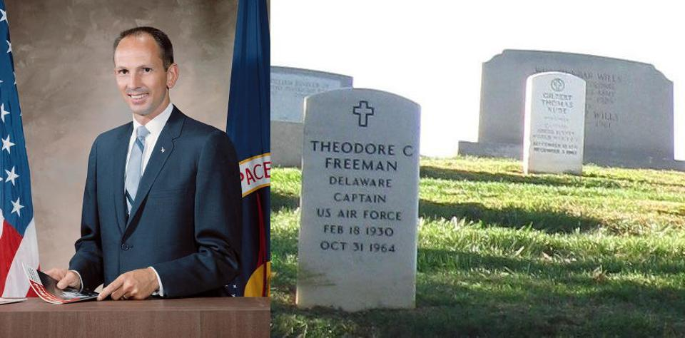 Ted Freeman, US Air Force Captain, was the first NASA astronaut to perish in training.