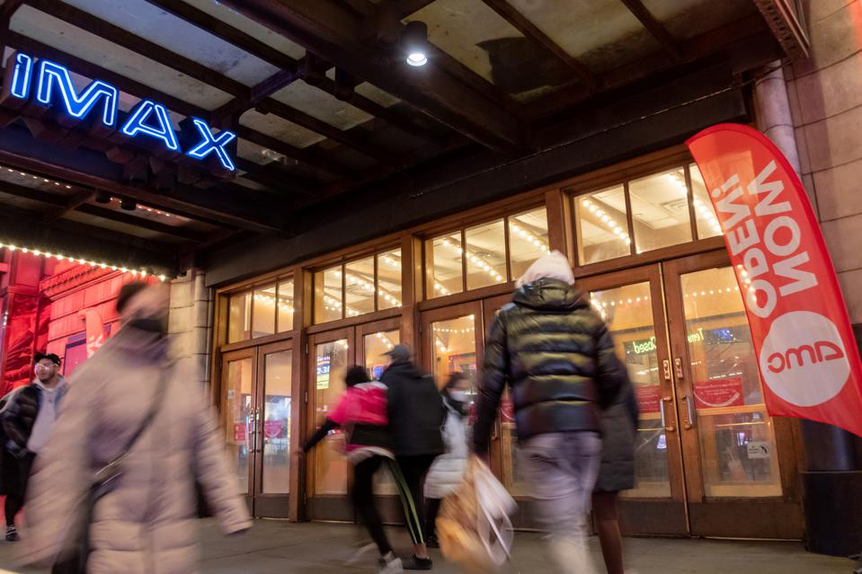 Movie Theatres Reopen In New York City