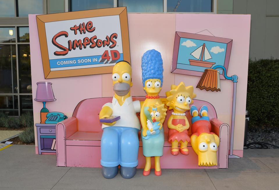The Simpsons family can be used as an analogy for knowing your audience.