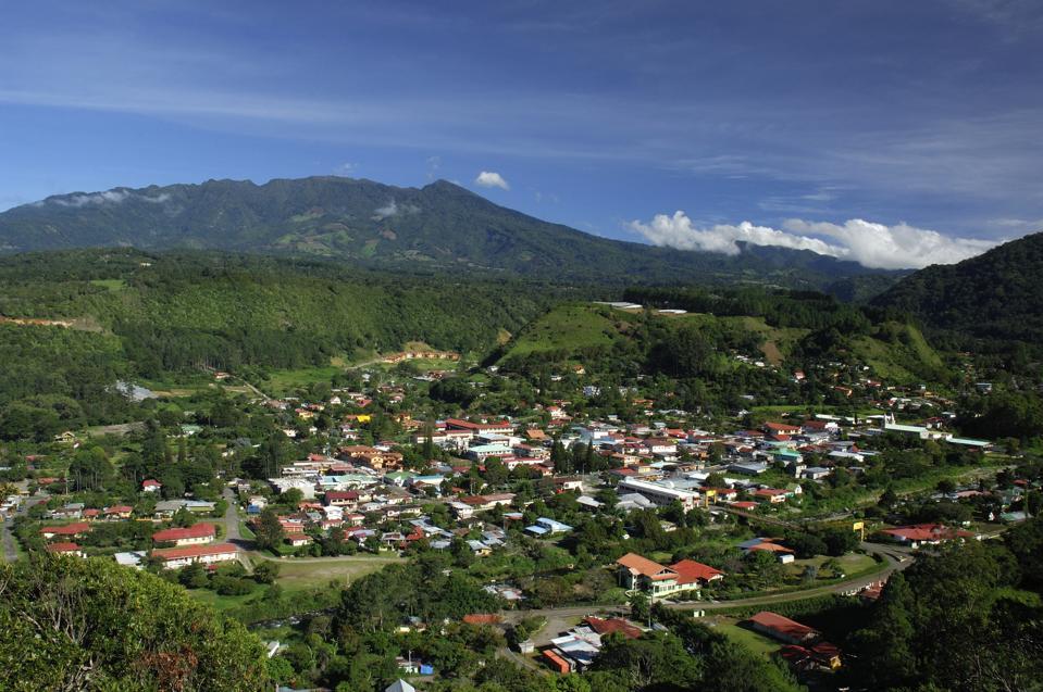 Panama highlands