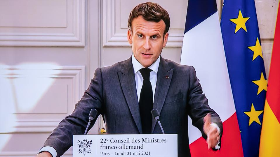 Germany And France Hold Virtual Ministerial Council