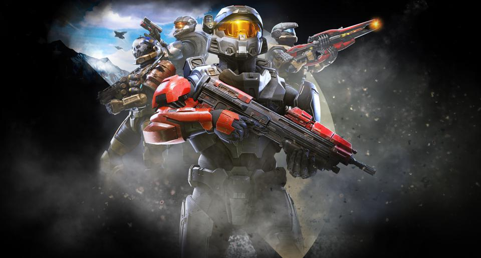 The Spartans in Halo Infinite