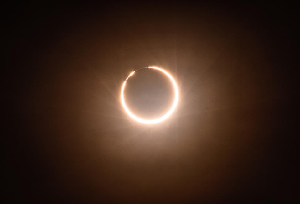 An Annular Eclipse