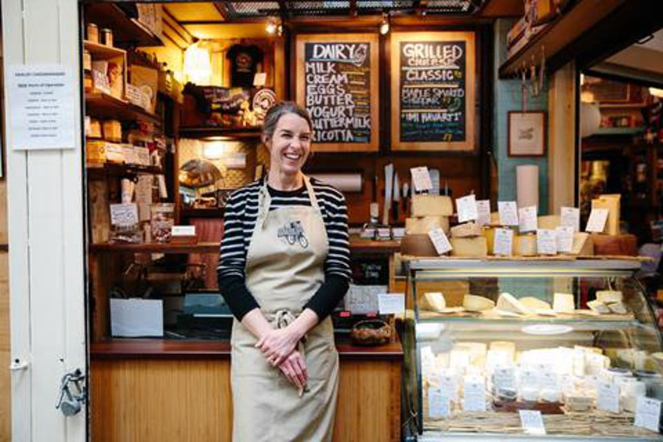 cheese, woman, founder, food, cheese shop